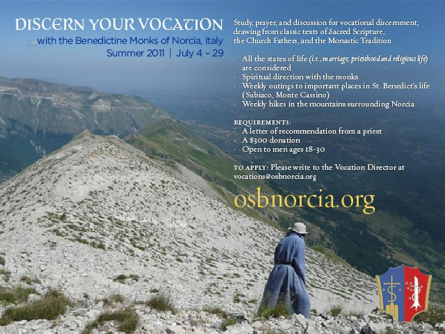 Vocation Flyer