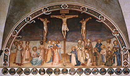Crucifixion with saints by Fra Angelico